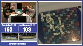 2016 North American Scrabble Championships Round 31