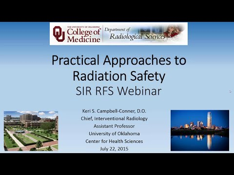 SIR-RFS Webinar (7/22/15): A Practical Approach to Radiation Safety thumbnail