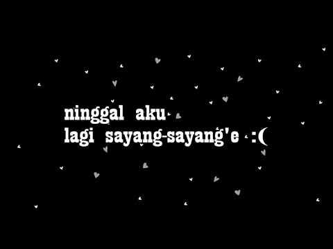 Udan Gerimis Ninggal Kenangan - Andhik Prass   Official Video Lyrics