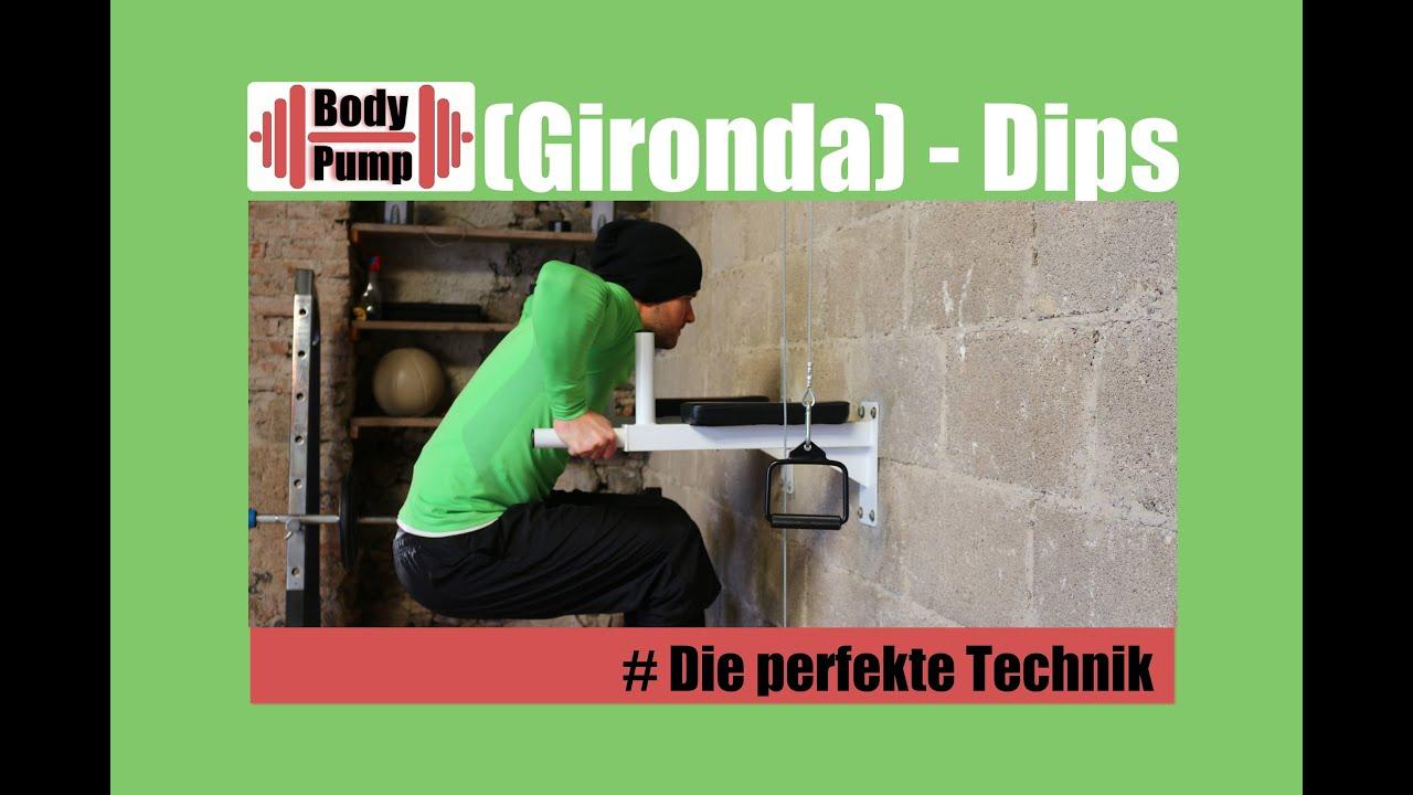 Dips / Gironda Dips - Training für Brust, Trizeps, Arme ...