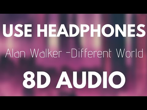 Alan Walker ‒ Different World (8D AUDIO) Ft. Sofia Carson, K-391, CORSAK