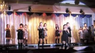 フィットネスクラブの忘年会にてSYB DANCE COMPANEY+会員様による宴会芸!