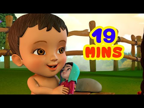 प्यारी गुड़िया गीत - Baby Doll Song Collection | Hindi Rhymes For Children | Infobells