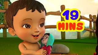 प्यारी गुड़िया गीत - Baby Doll Song collection | Hindi Rhymes for Children | Infobells