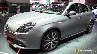 2016 Alfa Romeo Giulietta - Exterior and Interior Walkaround - Debut at 2016 Geneva Motor Show