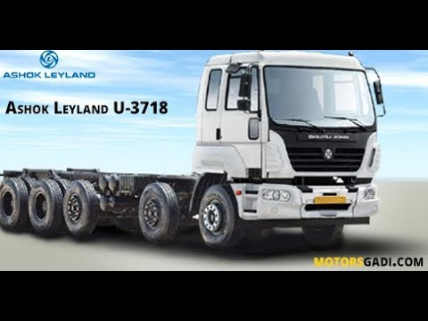 Ashok Leyland Truck U-3718 Reviews, Features and Specifications