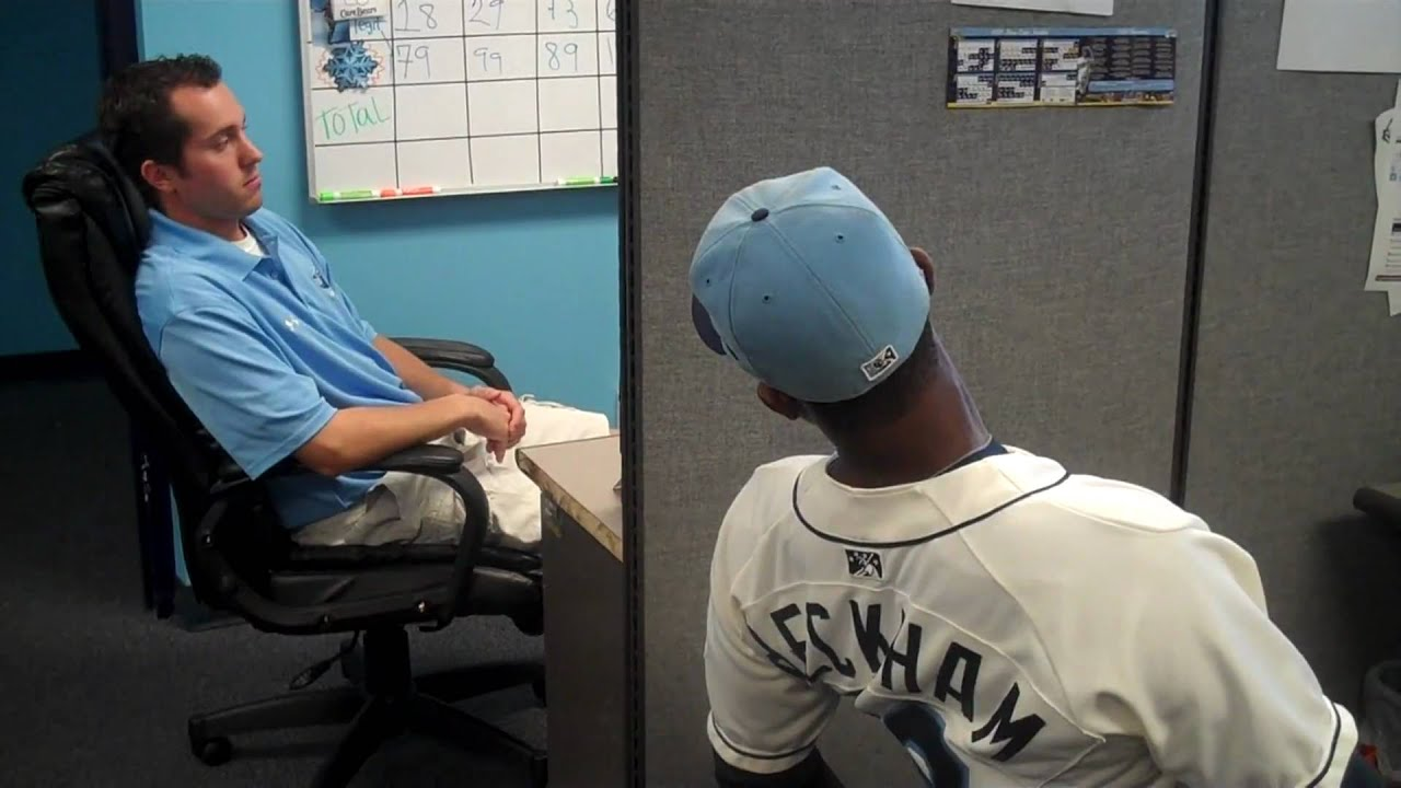baseball desk chair humanscale liberty this is stone crabs office youtube