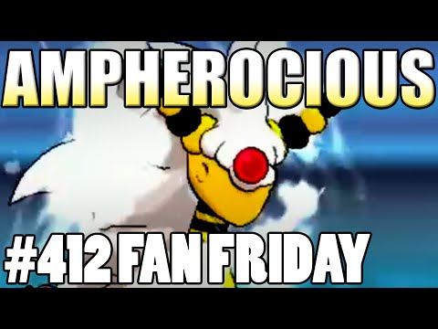 Ferocious Ampharos Sweep! Pokemon Omega Ruby Alpha Sapphire WiFi Battle! Fan Fridays #412 Braydon
