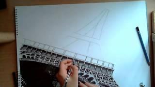 как нарисовать Эйфелевю башню(, 2016-03-14T15:31:06.000Z)