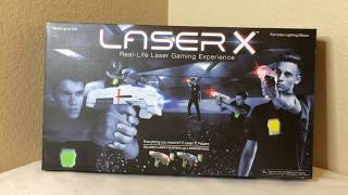 Laser X Review: Two Player At-Home Laser Tag Set