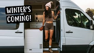 OFF-GRID LIVING IN CANADA | Van Life to Cabin Life