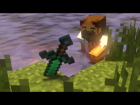 Minecraft Animation - The Force of the Sword
