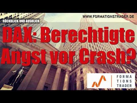 Dax, Dow Jones : Berechtigte Crash-Angst?