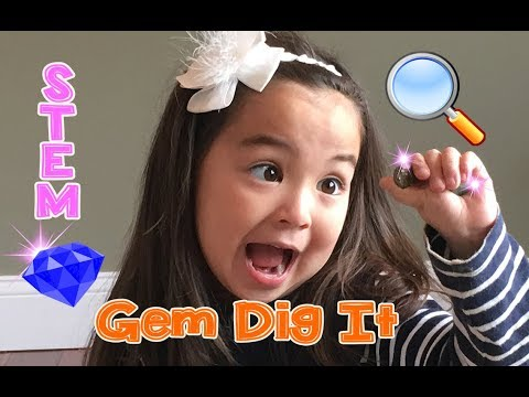 Gem Dig It | Excavation Kit | STEM Toy | Cathleen's Toy Review