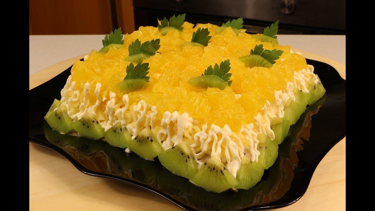 вкусные салаты доя застолья