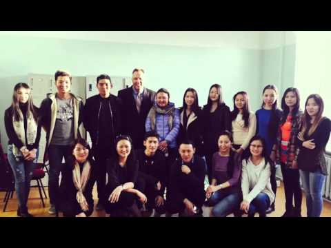 Professor Chris Carr, IFE Fulbright Specialist Program Mongolia