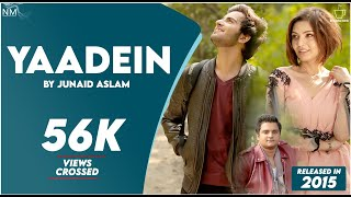 Yaadein Feat. Junaid Aslam ll Official Video ll Namyoho Studios ll