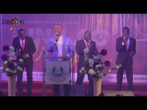 Unilag Prays with Dr. D.K Olukoya