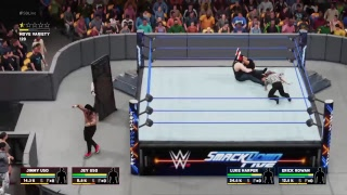 WWE2K18 THE USOS VS THE BLUDGEON BROTHERS