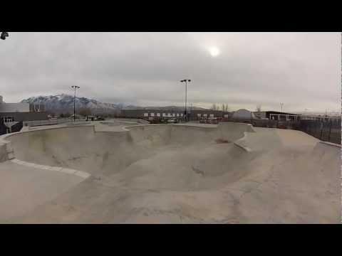 """South Jordan Utah Skatepark """"sk8parkatlas"""""""