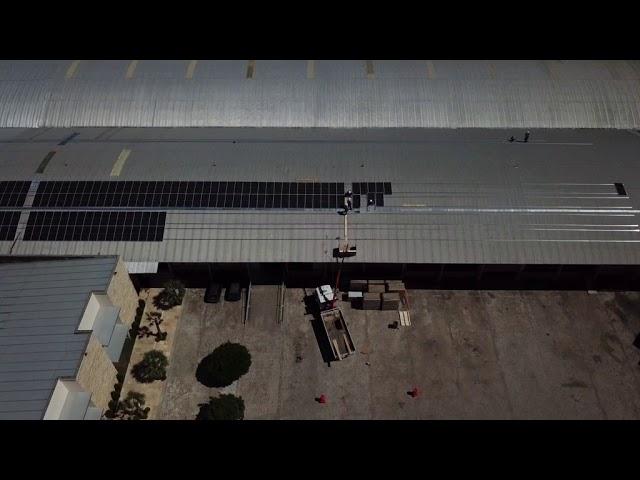 Tuboarte Móveis - Início da Instalação de 1,36 MegaWatts