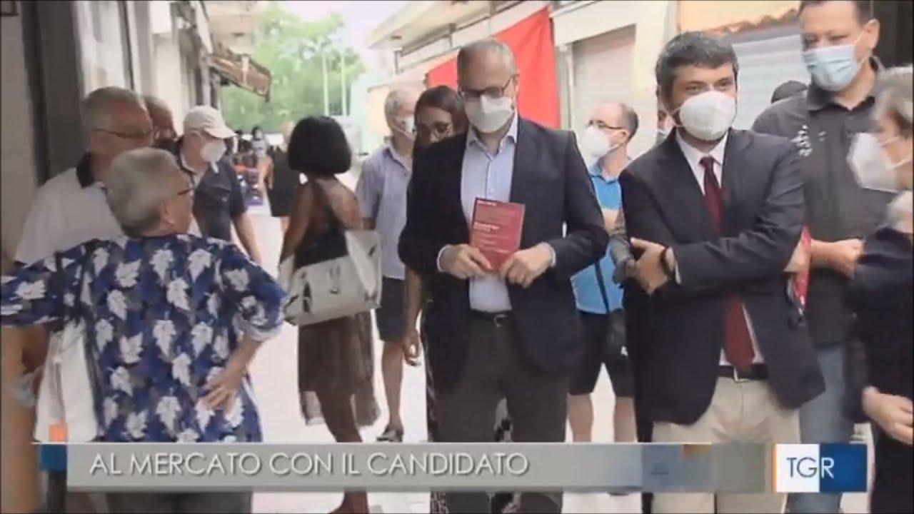 A Primavalle con Roberto Gualtieri e Marco Della Porta - TgR Lazio del 28.08.21