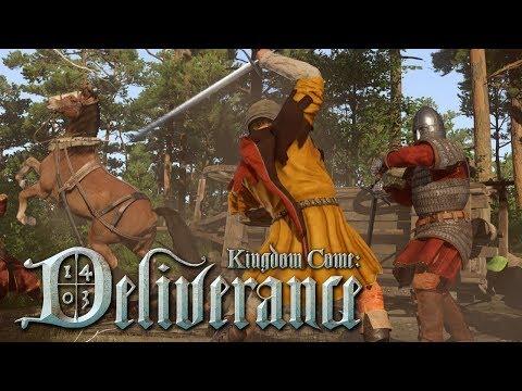 KINGDOM COME DELIVERANCE #10 - EU MATEI A PESSOA ERRADA!! (PS4 PRO Gameplay em PT-BR)
