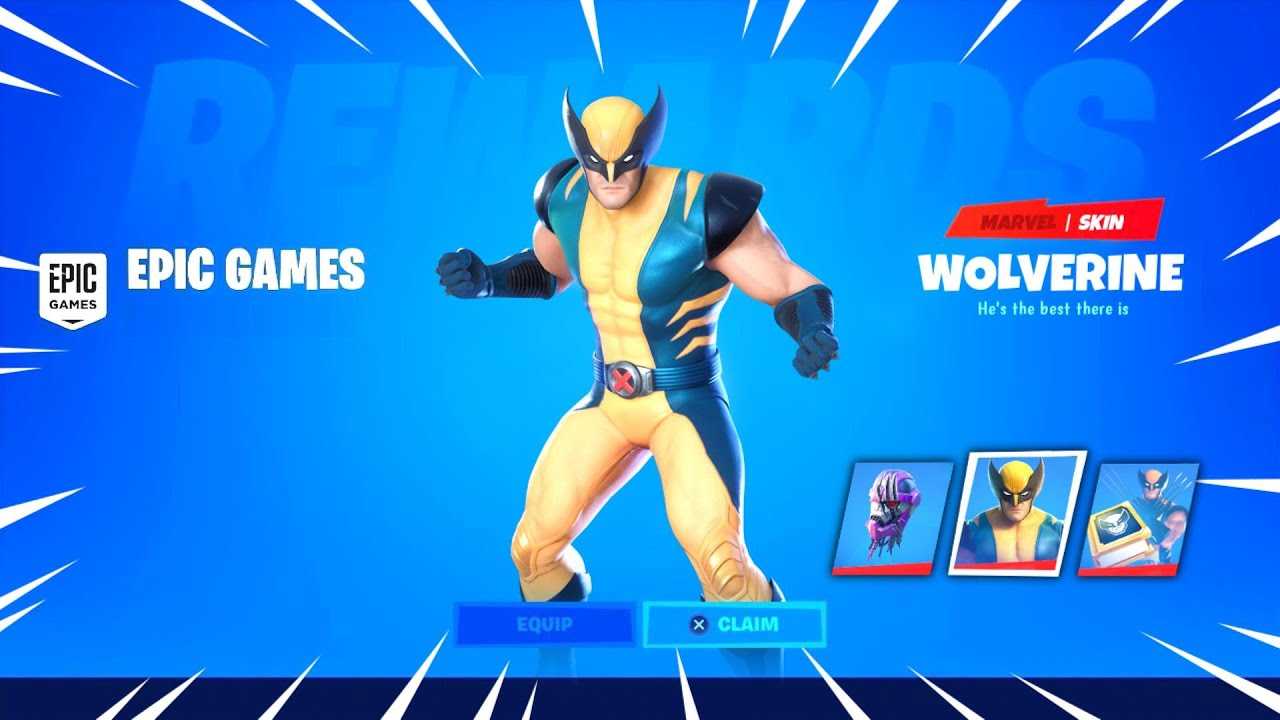 Unlocking Wolverine Skin Items In Fortnite Easy Youtube