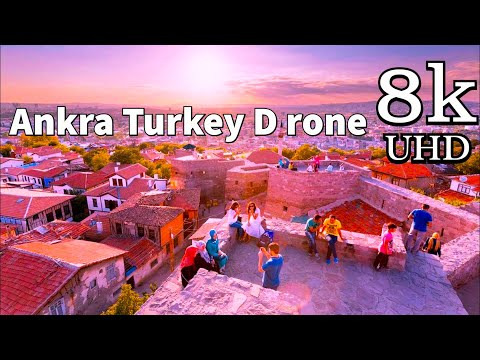 Ankara in 8K Drone | Ankara Turkey in 8K UHD Drone