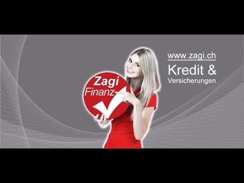 Kredit, Barkredit - Zagi Finanz | www.zagi.ch