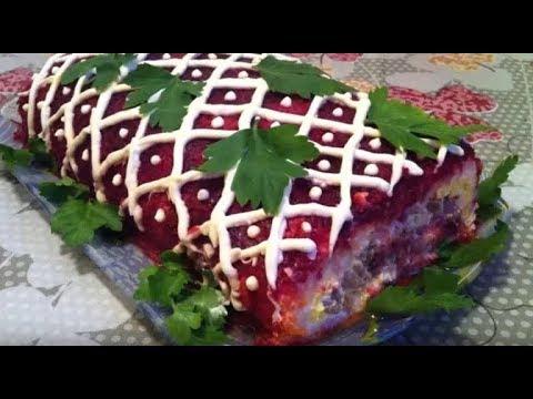 #Вкусная Селедка под шубой рулетом.что будет на  Домашний, на кухне Познователя - Смотреть видео онлайн