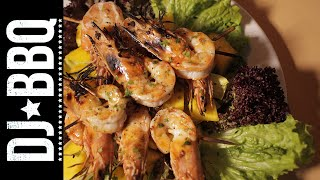 Grilled Shrimp With Mango Salad | Portugal