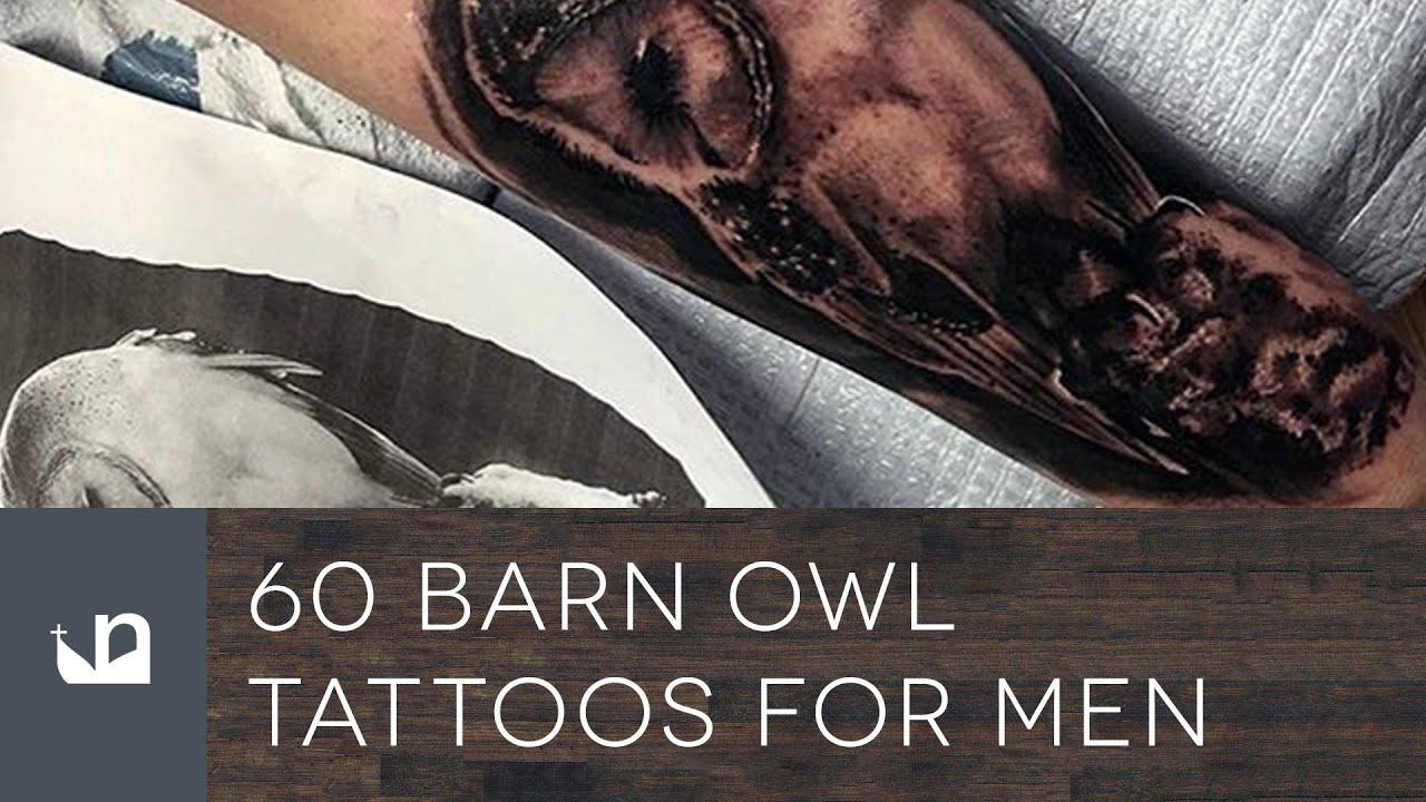 906965f70 60 Barn Owl Tattoos For Men - YouTube