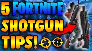 5 Shotgun Tips – How to Hit Every Shotgun Shot in Fortnite!
