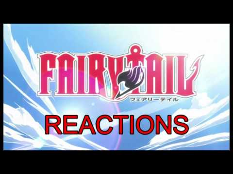 Fairy Tail Blind Reactions - The First 4 Episodes!