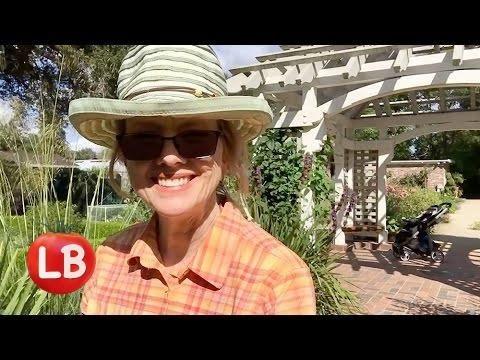 Palo Alto | Gamble Garden Flower Tour | Kaye's Vlog