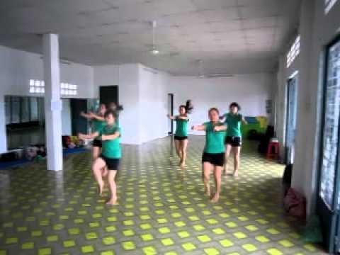 Lớp hướng dẫn viên aerobic mầm non (nhóm 3)
