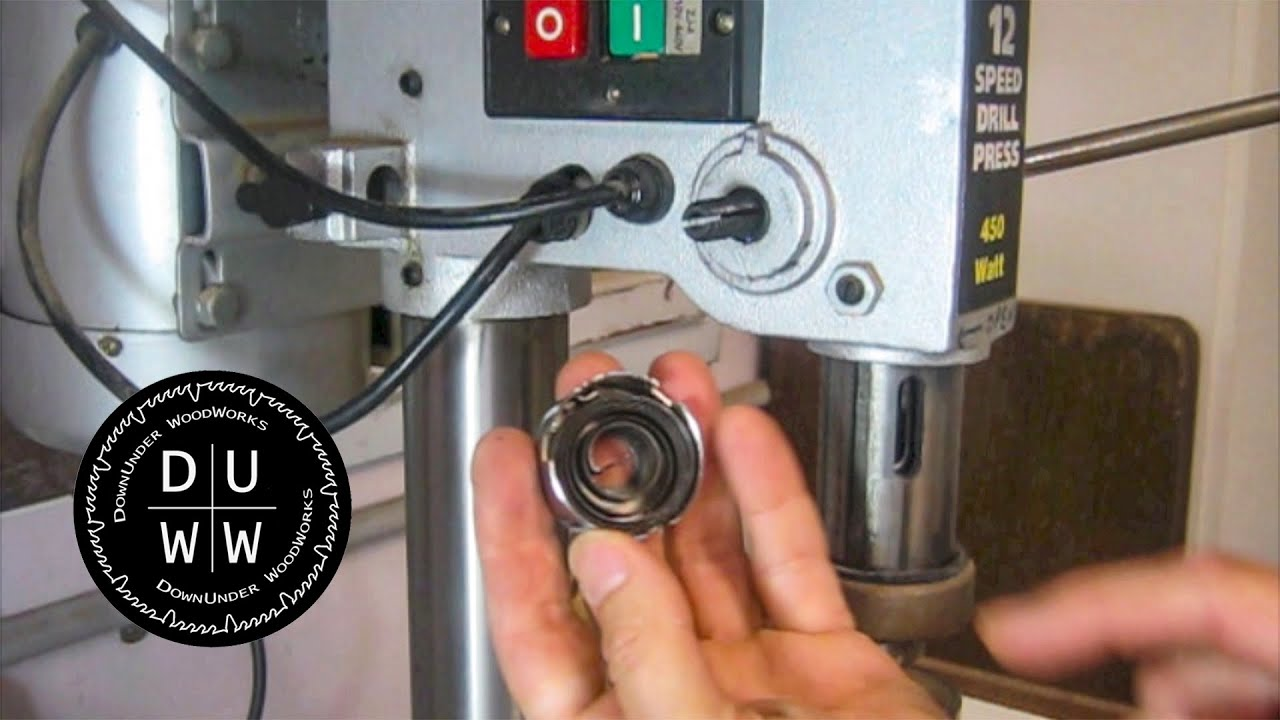 How to replace a drill press spring