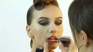 www.dancelook.tv Roll Bun Ballroom Dance Look Hair & Makeup (#dancesport)