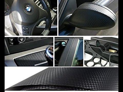 Pellicola Adesiva Per Interni Auto.Pellicola Carbon Universale Per Interni Esterni Auto Wrapping Youtube