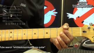 Ghostbusters Theme Electric Melody Guitar Lesson FunkGuitarGuru Funk
