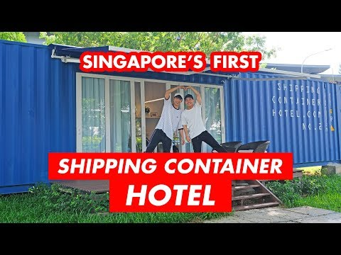 STAYING AT SINGAPORE'S FIRST SHIPPING CONTAINER HOTEL (OMG SO COOL!)