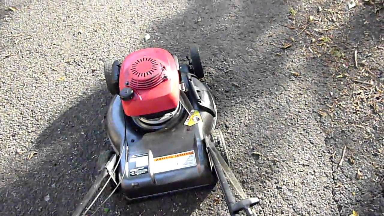 honda hr216 mulching lawn mower youtube. Black Bedroom Furniture Sets. Home Design Ideas