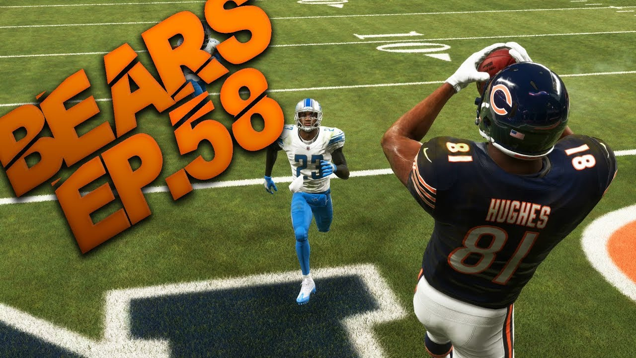 half off da9d4 e9cc0 Detroit Lions Player Chases Single Game Sack Record! Madden 19 Chicago  Bears Franchise Ep.58