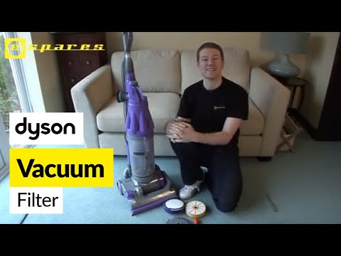 How To Replace Dyson Filters On A Dc07 Vacuum Cleaner