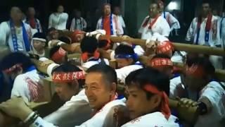 令和元年7月28日(本宮) 高崎神社 布団太鼓巡行