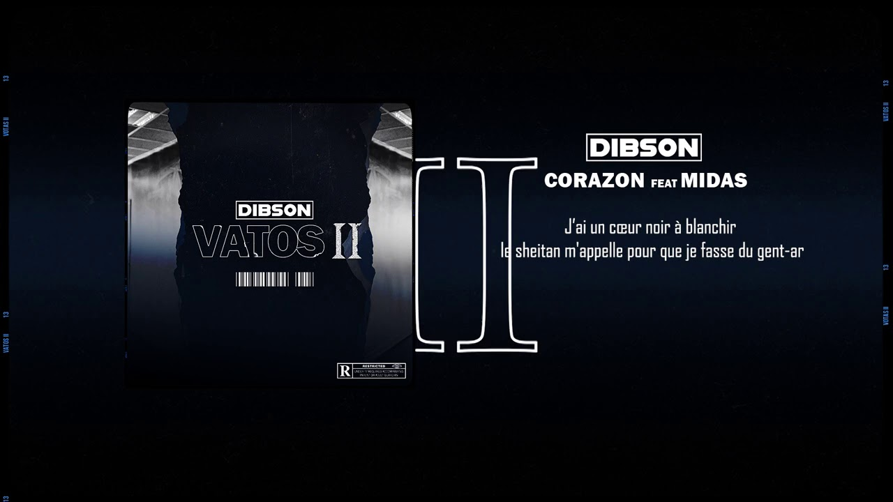 Dibson - Corazon ft. Midas (Lyrics video)