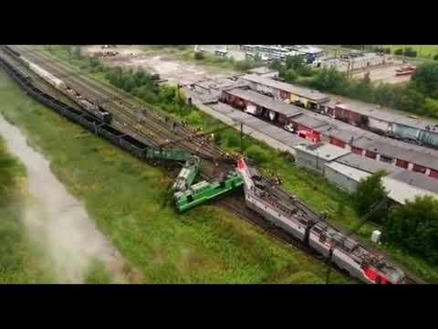 Столкновение поезд в Питере 28.07.2020 года, локомотивная бригада погибла