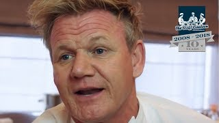 3 Michelin-starred chef Gordon Ramsay on why he's not a TV chef, he's a fucking real chef!