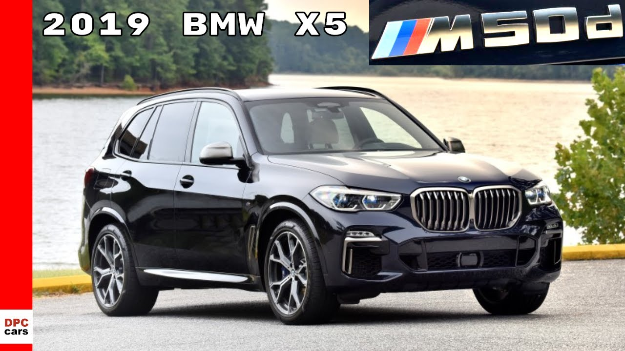 2019 Bmw X5 M50d Youtube